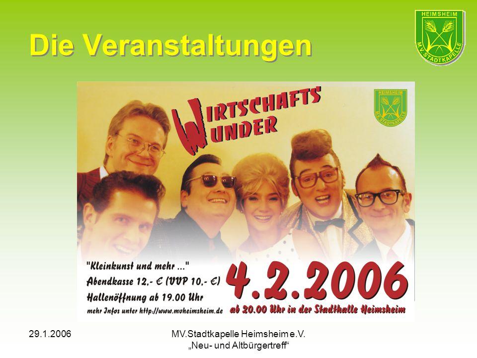 "MV.Stadtkapelle Heimsheim e.V. ""Neu- und Altbürgertreff"