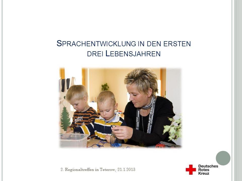 Sprachentwicklung in den ersten drei Lebensjahren