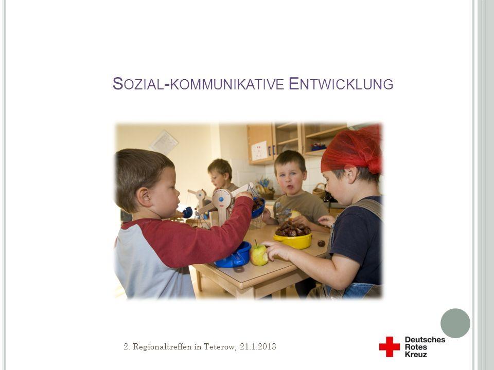 Sozial-kommunikative Entwicklung