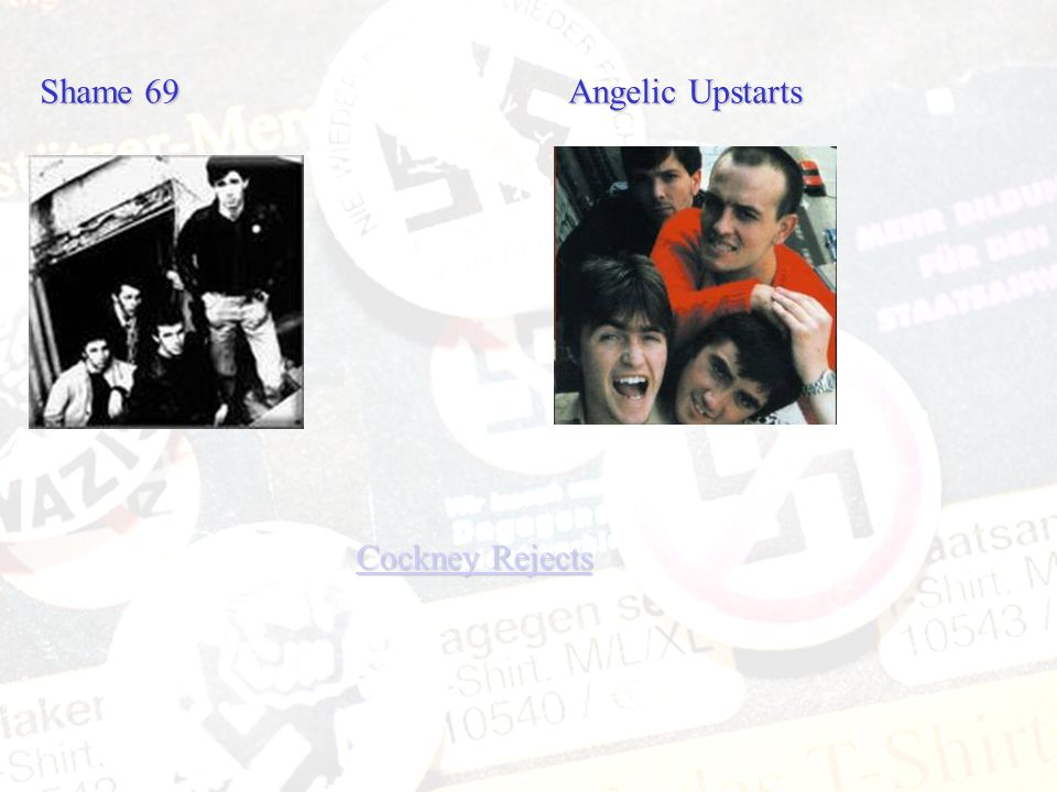 Shame 69 Angelic Upstarts
