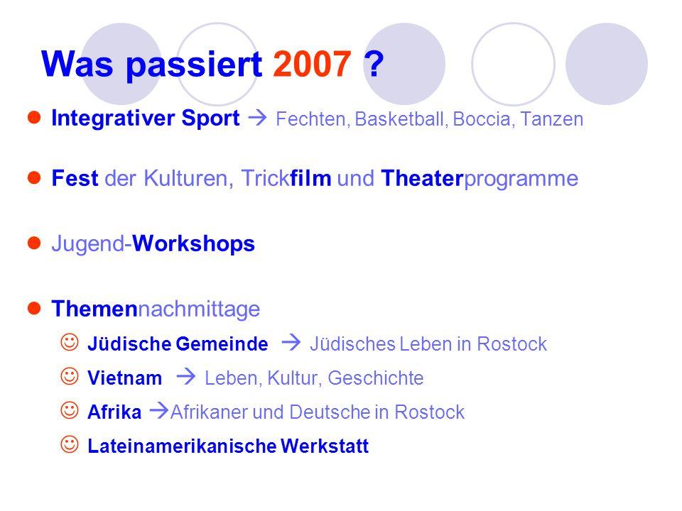 Was passiert 2007 Jüdische Gemeinde  Jüdisches Leben in Rostock