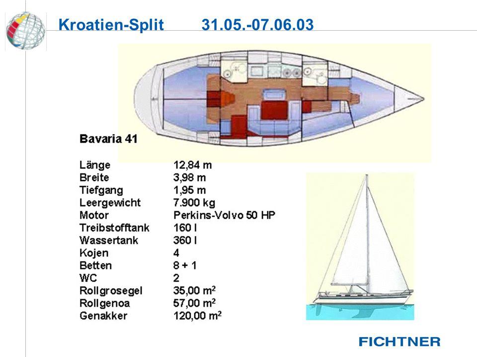 Kroatien-Split 31.05.-07.06.03