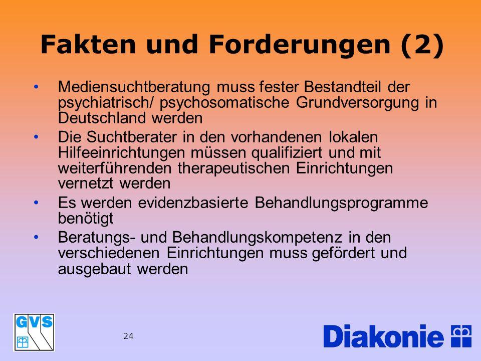 Fakten und Forderungen (2)