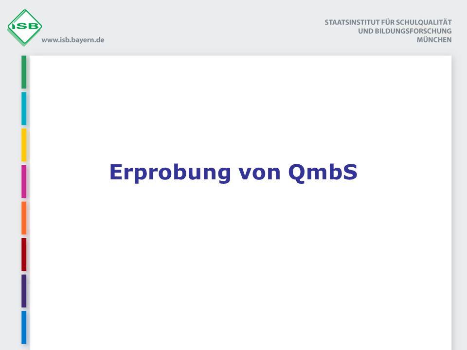 Erprobung von QmbS