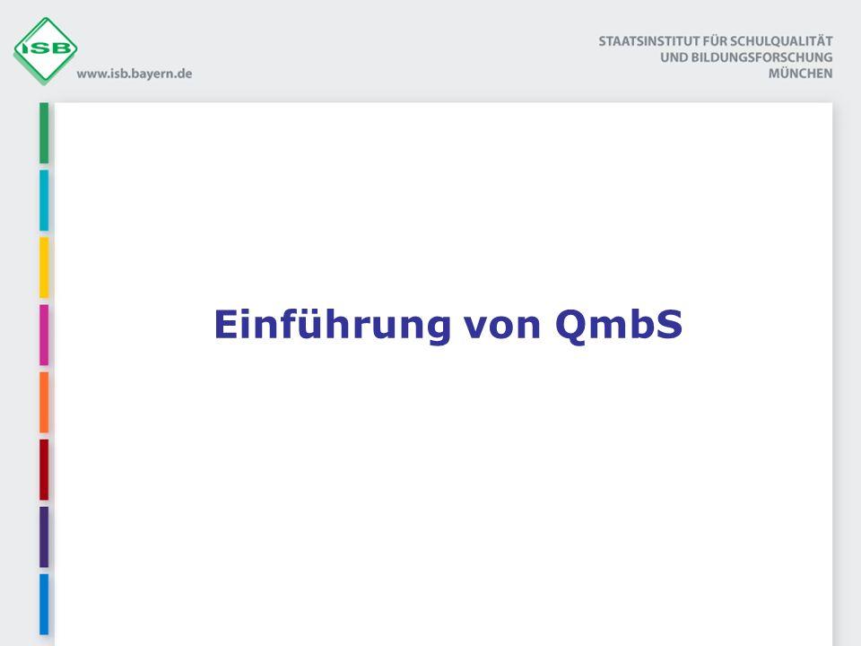 Einführung von QmbS