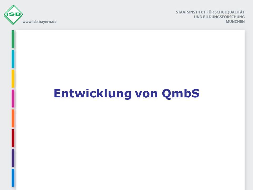 Entwicklung von QmbS