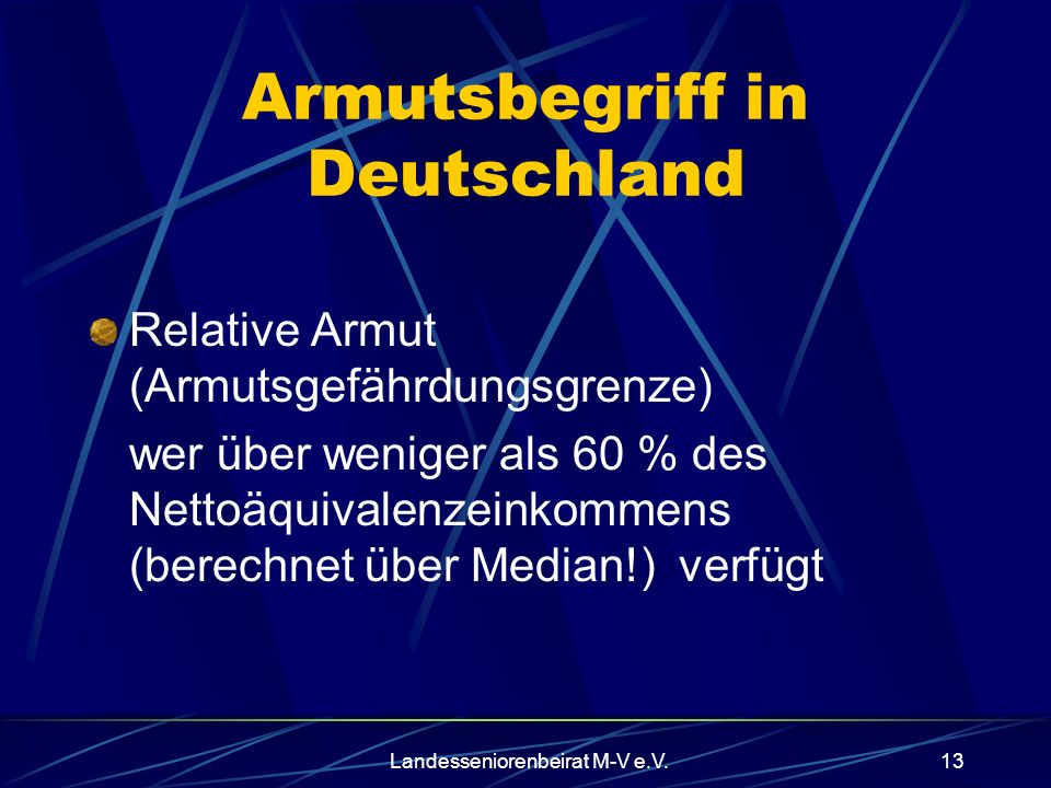 Armutsbegriff in Deutschland