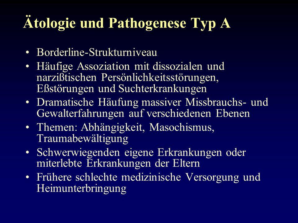 Ätologie und Pathogenese Typ A