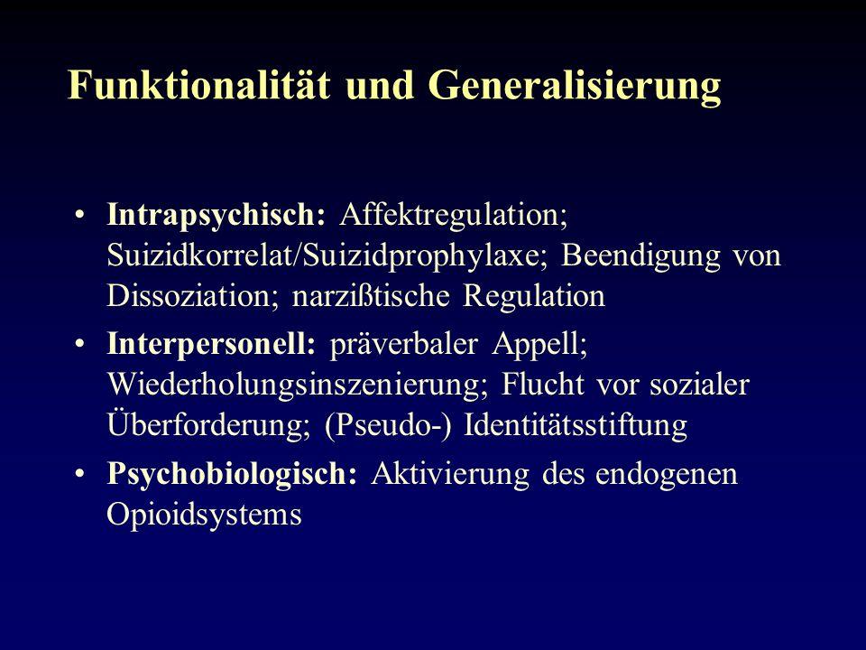 Funktionalität und Generalisierung