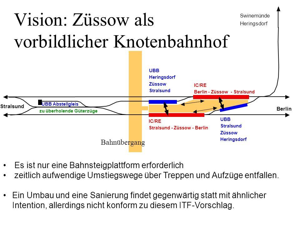 Vision: Züssow als vorbildlicher Knotenbahnhof