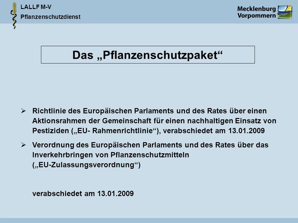 """Das """"Pflanzenschutzpaket"""