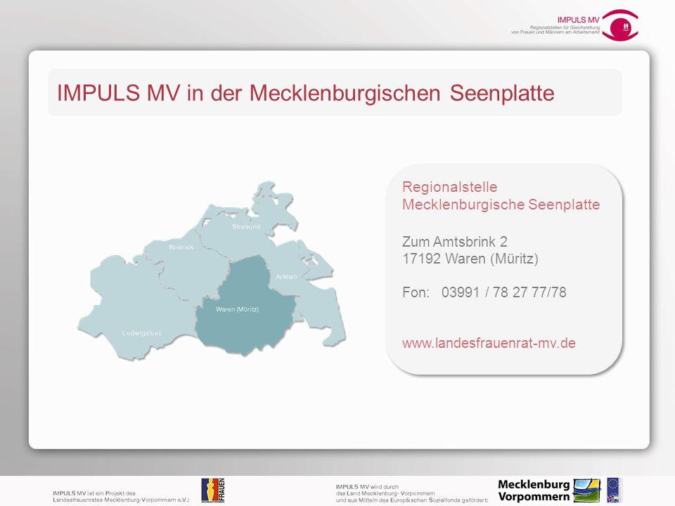IMPULS MV in der Mecklenburgischen Seenplatte