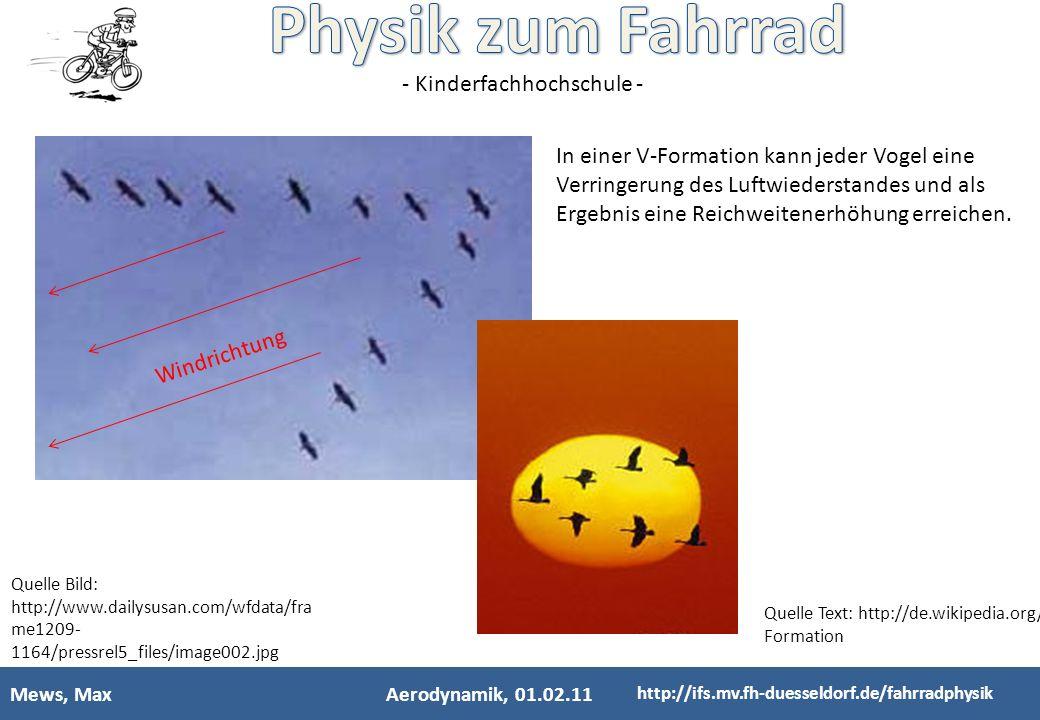 In einer V-Formation kann jeder Vogel eine Verringerung des Luftwiederstandes und als Ergebnis eine Reichweitenerhöhung erreichen.