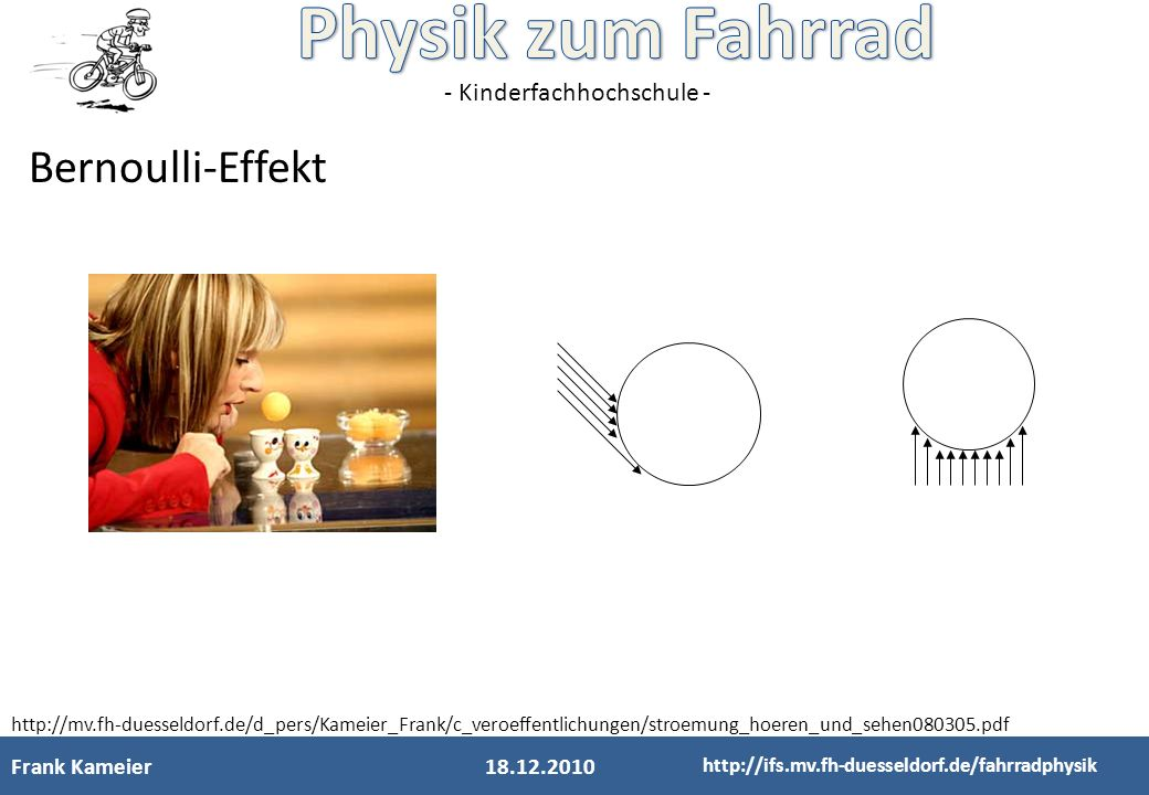 Bernoulli-Effekt Frank Kameier 18.12.2010