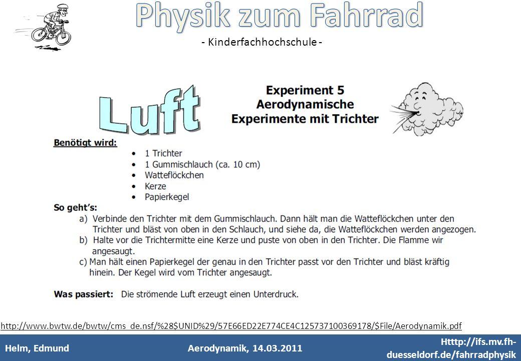 Htttp://ifs.mv.fh-duesseldorf.de/fahrradphysik