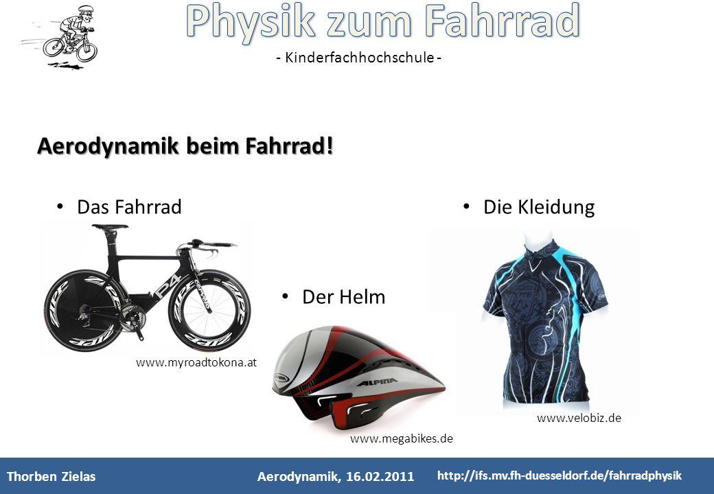 Aerodynamik beim Fahrrad!