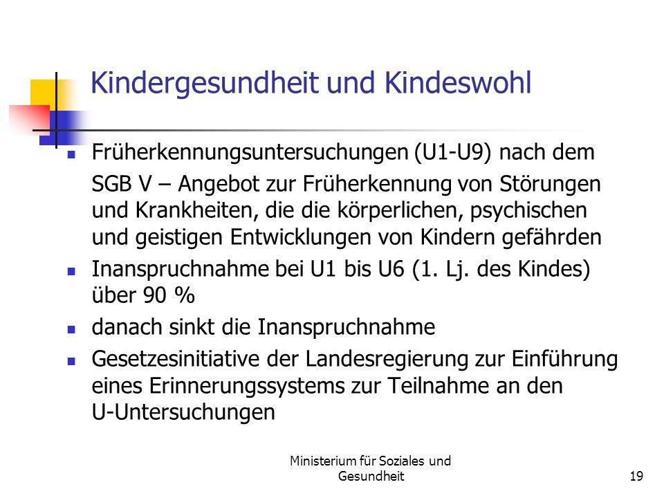 Kindergesundheit und Kindeswohl