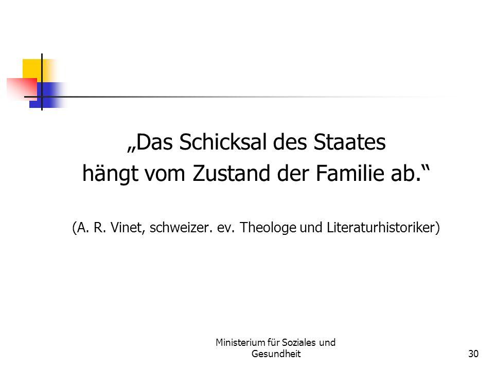 """""""Das Schicksal des Staates hängt vom Zustand der Familie ab."""