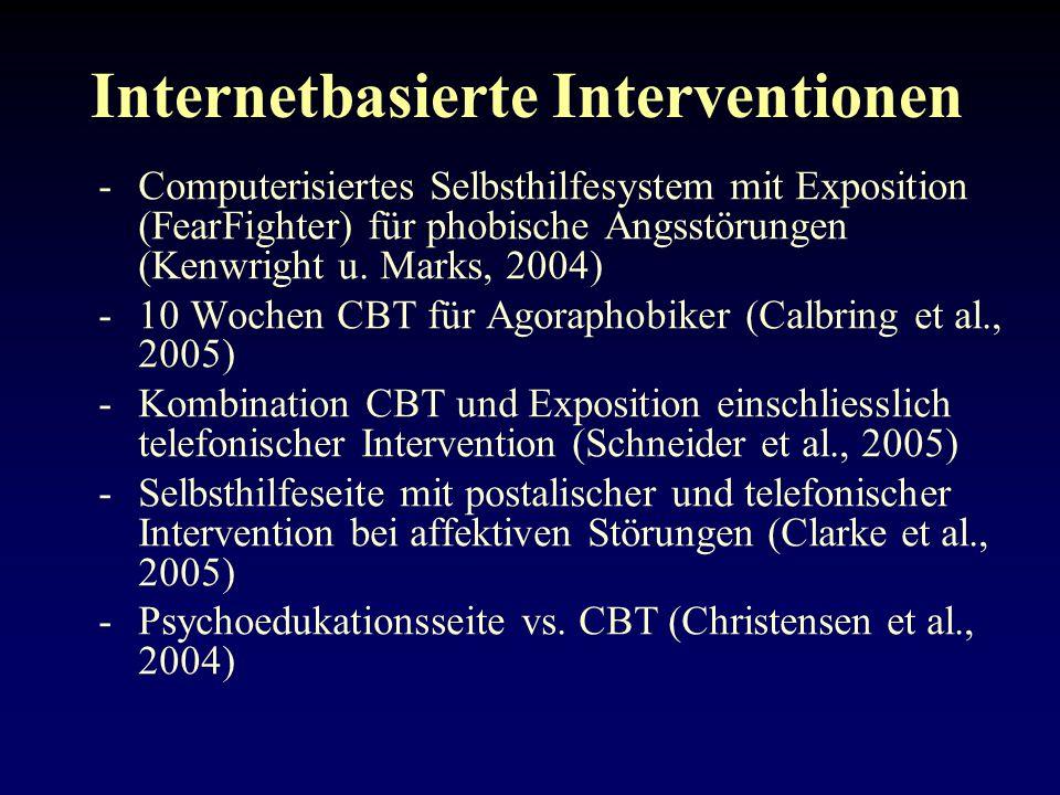 Internetbasierte Interventionen