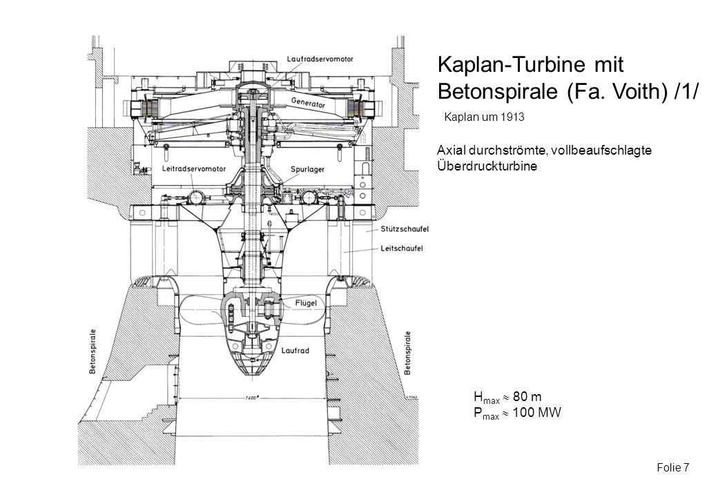 Betonspirale (Fa. Voith) /1/