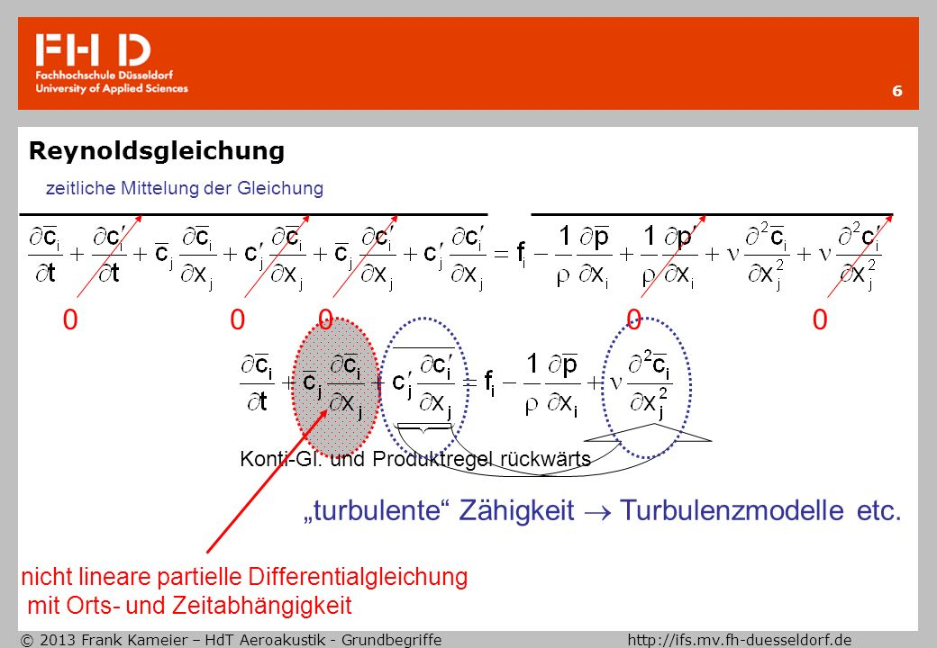 """turbulente Zähigkeit  Turbulenzmodelle etc."