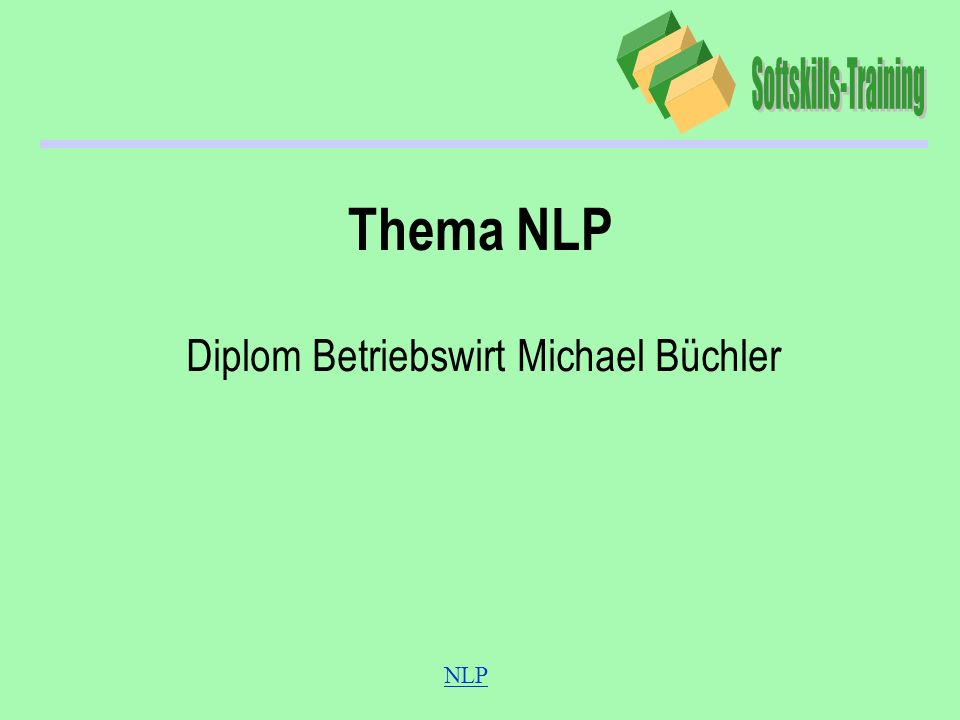 Diplom Betriebswirt Michael Büchler