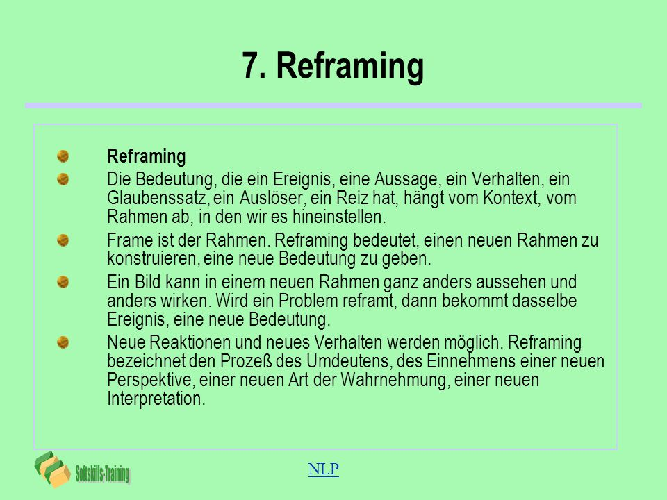 7. ReframingReframing.