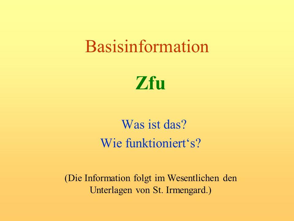 Zfu Basisinformation Was ist das Wie funktioniert's