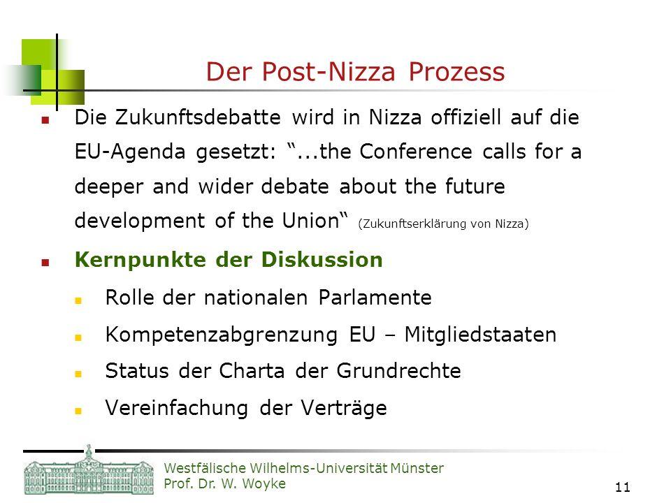 Der Post-Nizza Prozess