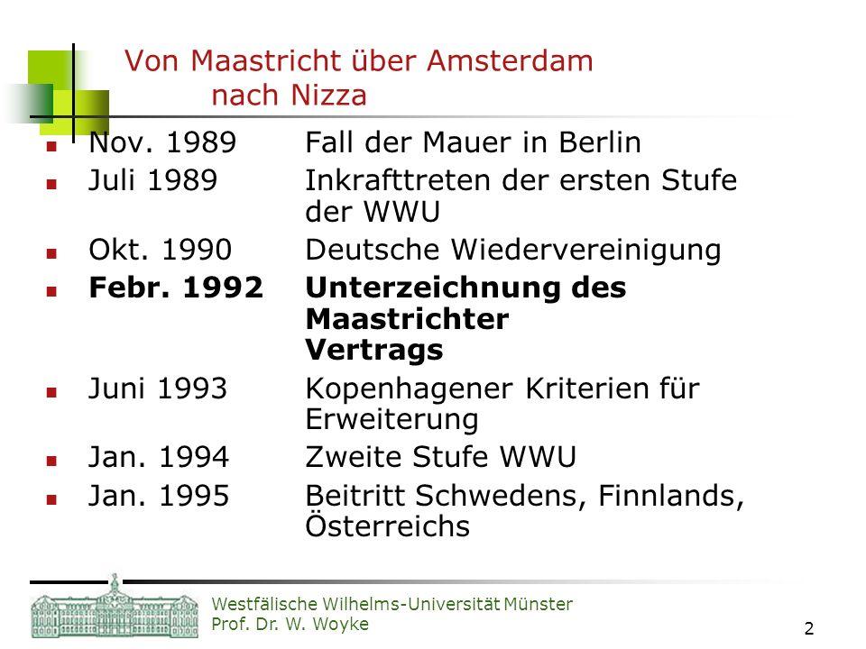 Von Maastricht über Amsterdam nach Nizza