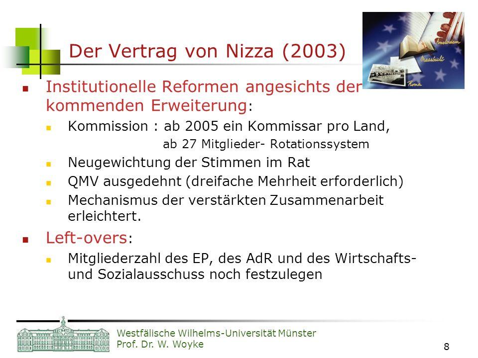 Der Vertrag von Nizza (2003)