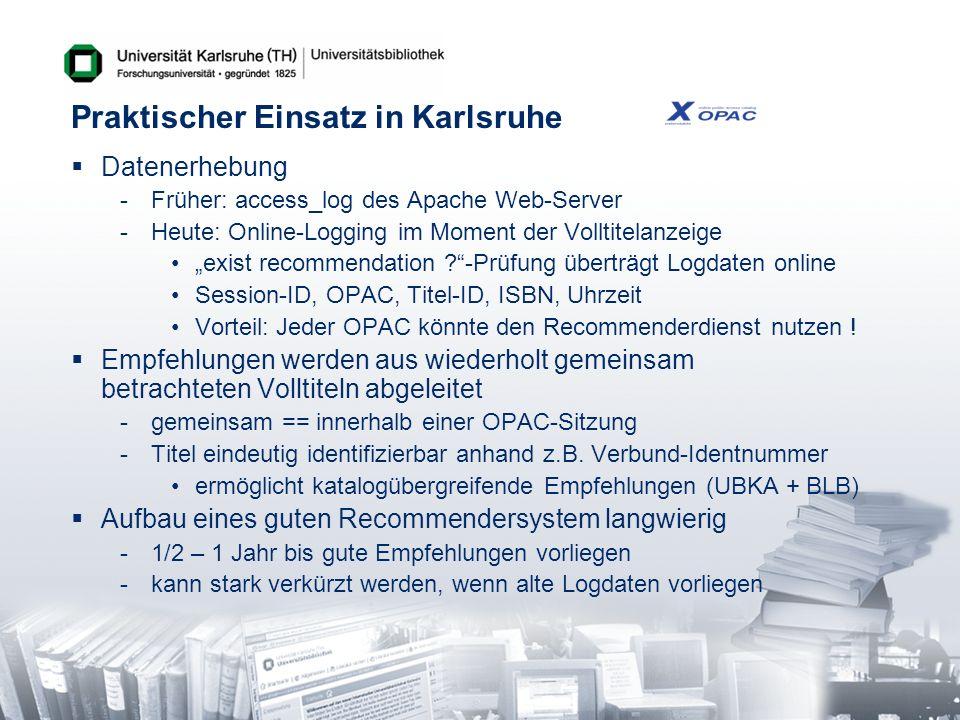 Praktischer Einsatz in Karlsruhe