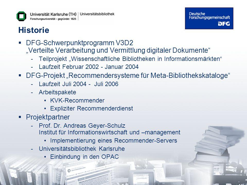 """Historie DFG-Schwerpunktprogramm V3D2 """"Verteilte Verarbeitung und Vermittlung digitaler Dokumente"""