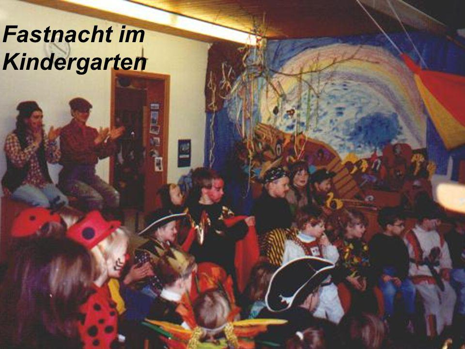 Fastnacht im Kindergarten