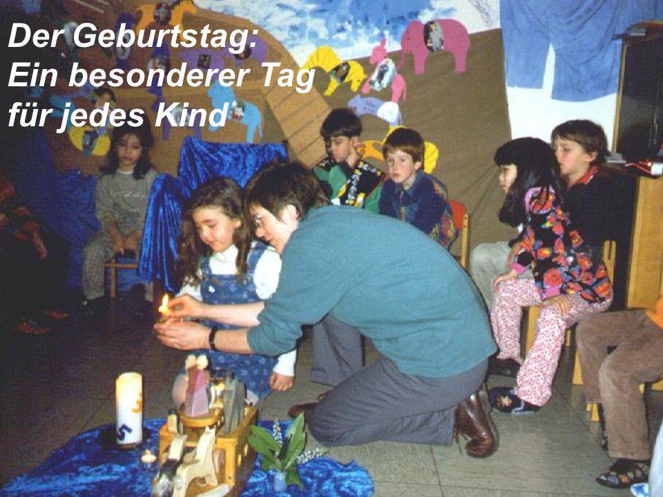 Der Geburtstag: Ein besonderer Tag für jedes Kind