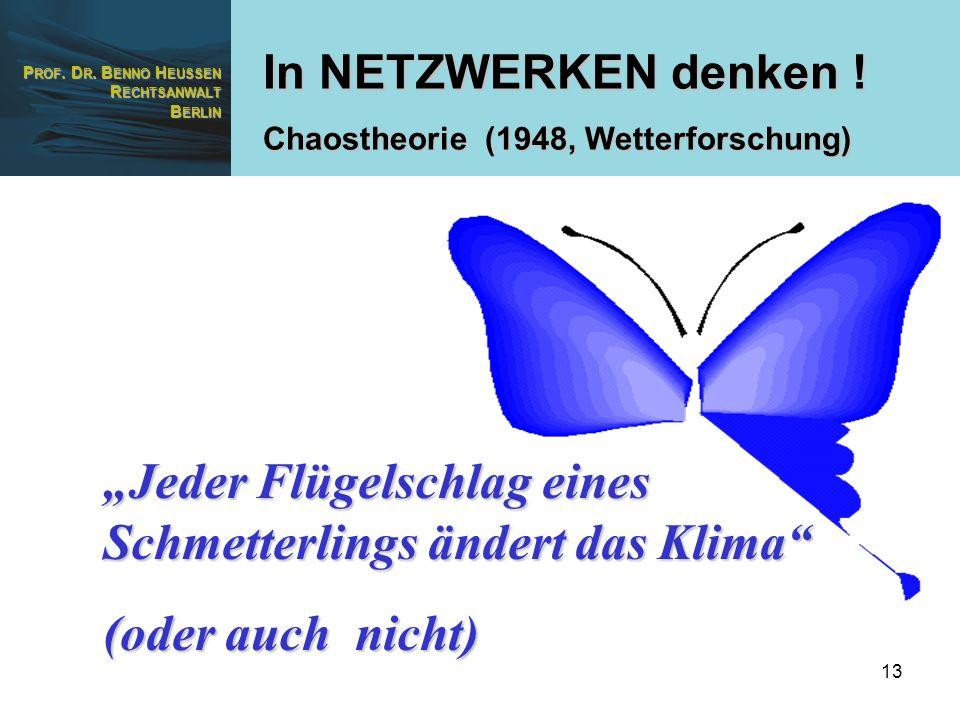 """""""Jeder Flügelschlag eines Schmetterlings ändert das Klima"""