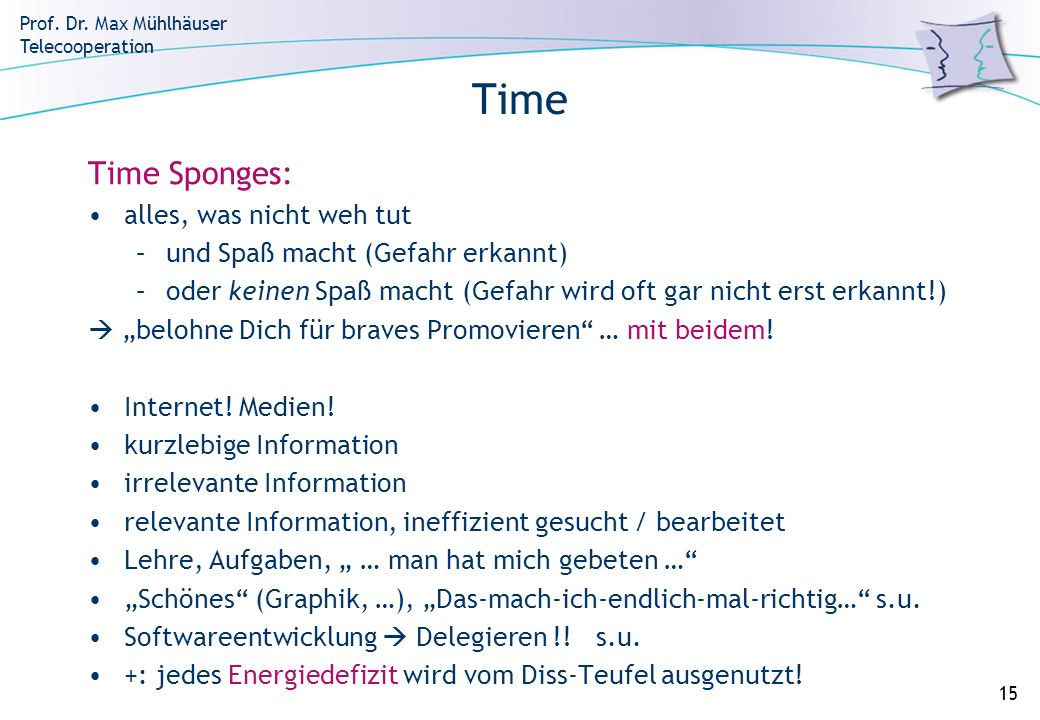 Time Time Sponges: alles, was nicht weh tut