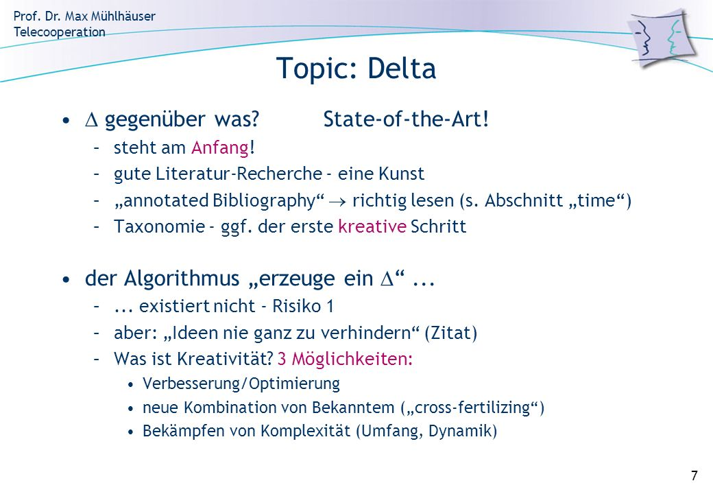 Topic: Delta  gegenüber was State-of-the-Art!