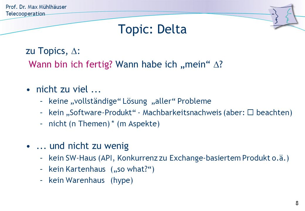Topic: Delta zu Topics, :