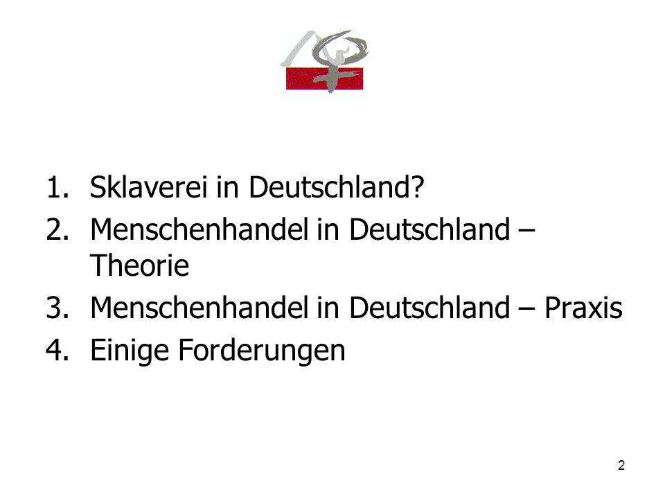 Sklaverei in Deutschland
