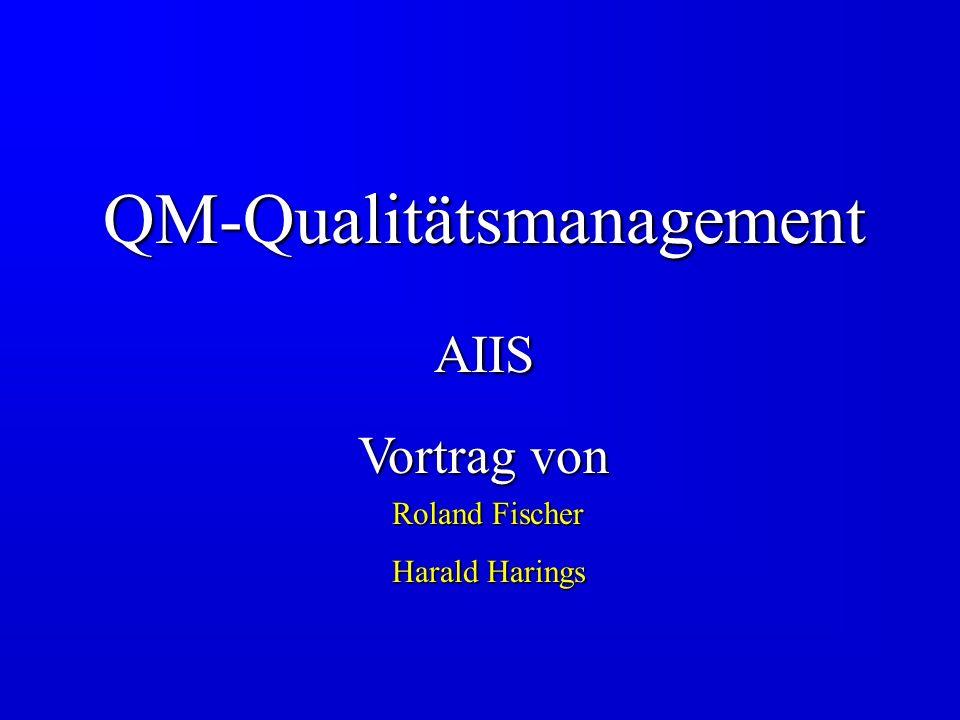 QM-Qualitätsmanagement