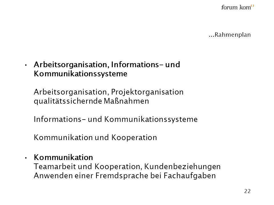 ...Rahmenplan