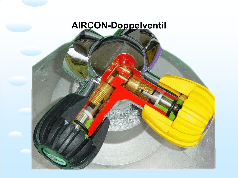 AIRCON-Doppelventil