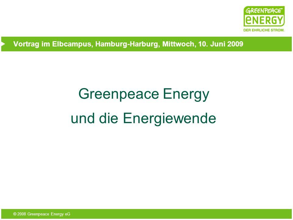Vortrag im Elbcampus, Hamburg-Harburg, Mittwoch, 10. Juni 2009