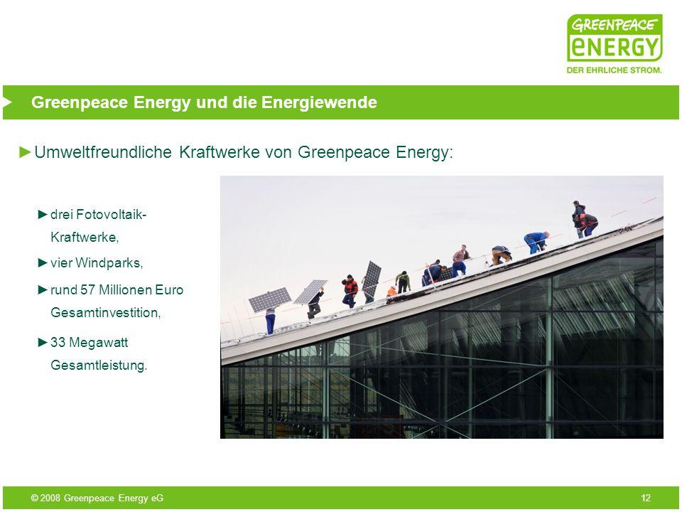 Greenpeace Energy und die Energiewende