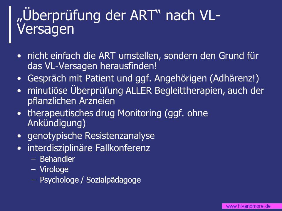 """""""Überprüfung der ART nach VL-Versagen"""