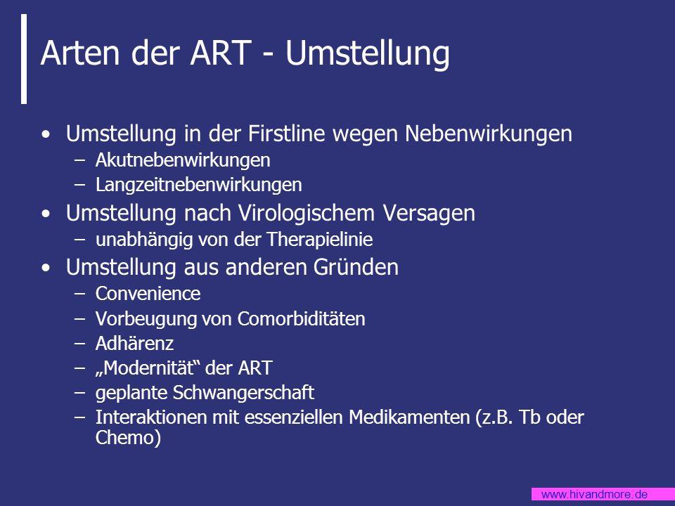 Arten der ART - Umstellung