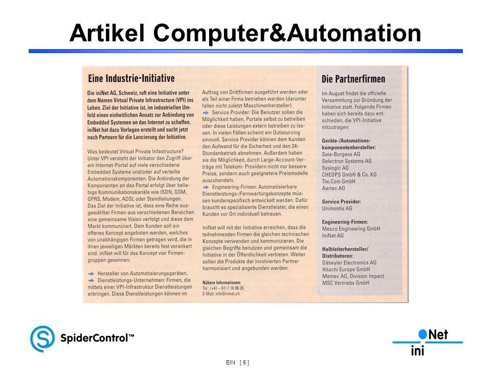 Artikel Computer&Automation