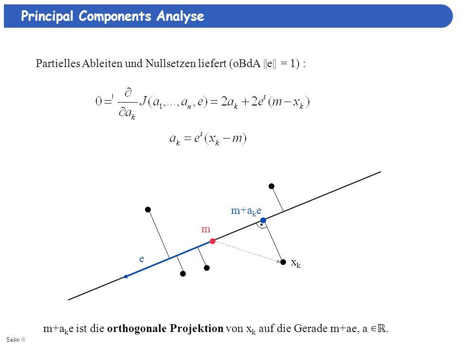 . Principal Components Analyse