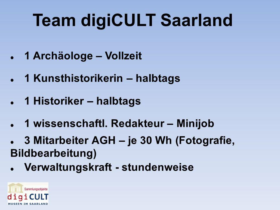 Team digiCULT Saarland